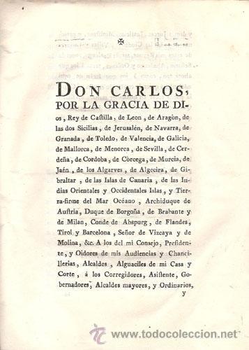 Libros antiguos: REAL CEDULA DE S. M. Y SEÑORES DEL CONSEJO – Año 1788 - Foto 3 - 37963511
