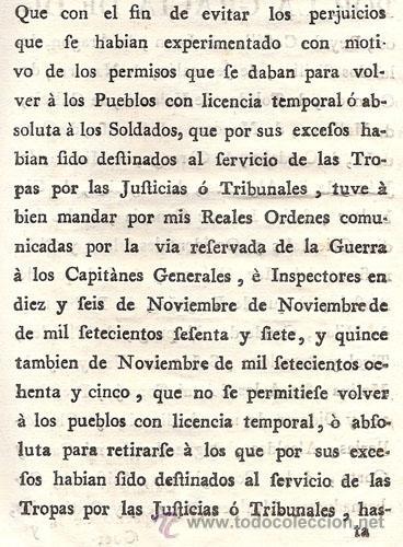 Libros antiguos: REAL CEDULA DE S. M. Y SEÑORES DEL CONSEJO – Año 1788 - Foto 6 - 37963511
