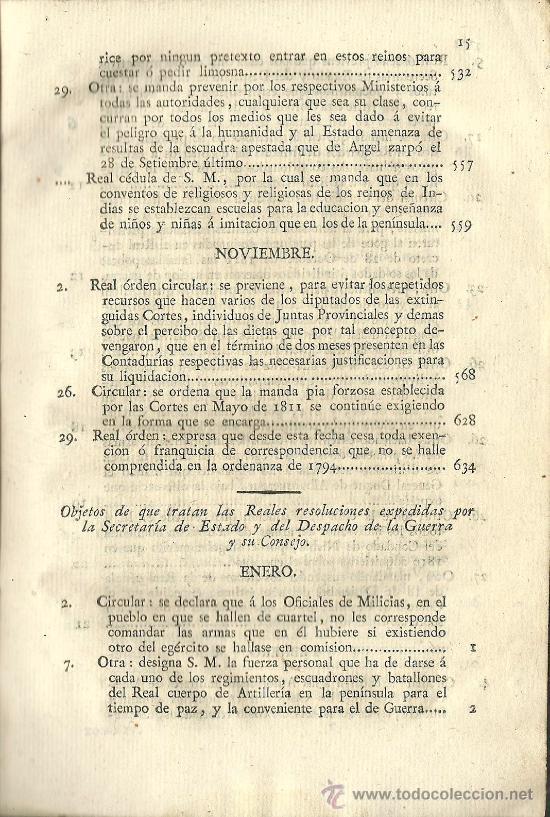 Libros antiguos: Decretos del Rey Don Fernando VII : tomo cuarto – 1818 - Foto 6 - 38954379