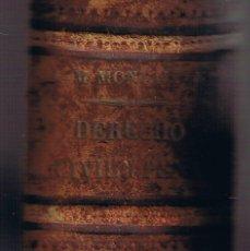 Libros antiguos: ELEMENTOS DEL DERECHO CIVIL Y PENAL DE ESPAÑA - TOMO PRIMERO - 1881 - . Lote 39793817