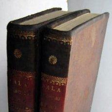 Libros antiguos: ILUSTRACIÓN DEL DERECHO REAL DE ESPAÑA (2 VOLÚMENES) SALA, JUAN. 1832. Lote 39964514