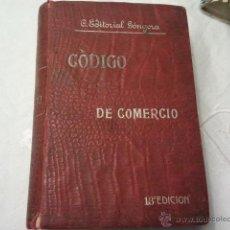 Libros antiguos: CODIGO DE COMERCIO. 13 EDICION. REVISTA DE LOS TRIBUNALES. GONGORA, AÑO 1913. Lote 40311717