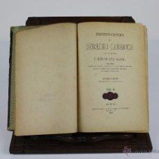 Libros antiguos: 6010- INSTITUCIONES DE DERECHO CANONICO. FRANCISCO GÓMEZ. IMP. ALEJANDRO GÓMEZ. TOMO 3. 1883.. Lote 148880245