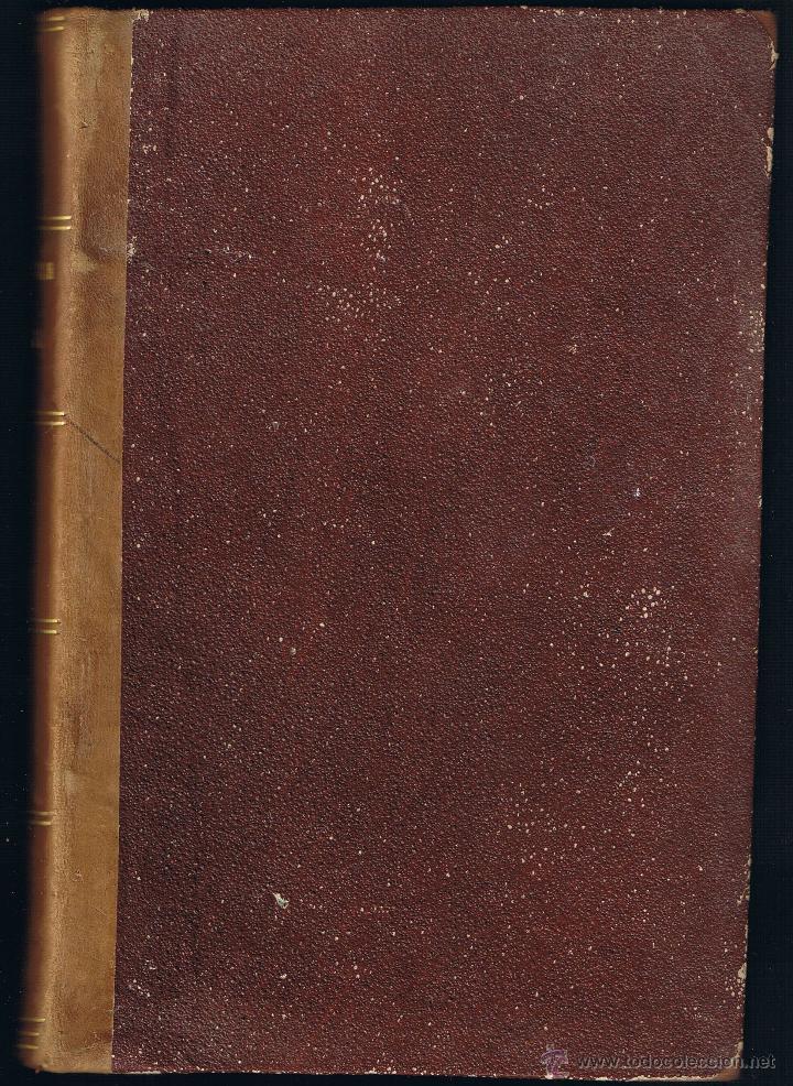 Libros antiguos: JURISPRUDENCIA CIVIL - COLECCIÓN COMPLETA DE LAS SENTENCIAS DICTADAS - TOMO XXI - 1870 - Foto 2 - 54955092