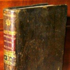 Libros antiguos: MÁXIMAS SOBRE RECURSOS DE FUERZA Y PROTECCIÓN TOMO 1 POR JOSÉ DE COVARRUBIAS EN MADRID 1830. Lote 40979109