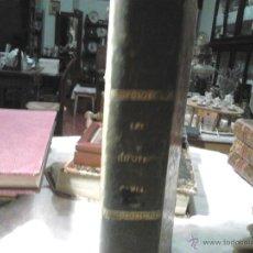 Libros antiguos: LEY HIPOTECARIA, REGLAMENTO GENERAL PARA SU EJECUCION E INSTRUCCION... (EDICION OFICIAL.1861) ... S. Lote 41322890