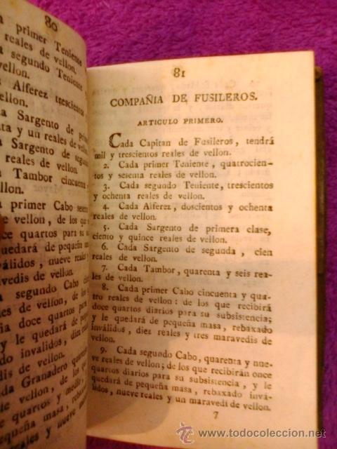 Libros antiguos: ORDENANZAS S. M. 1817 - Foto 4 - 41356882