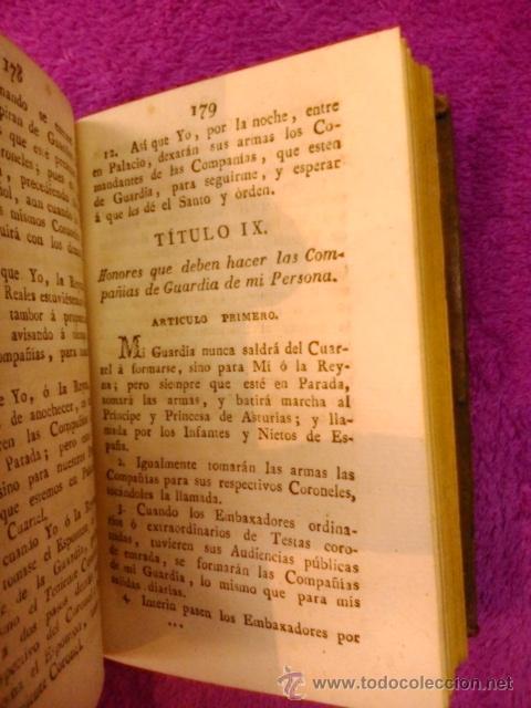 Libros antiguos: ORDENANZAS S. M. 1817 - Foto 5 - 41356882