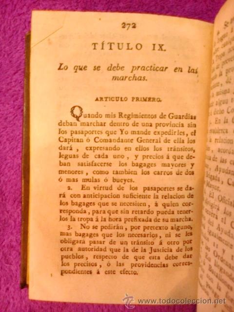 Libros antiguos: ORDENANZAS S. M. 1817 - Foto 6 - 41356882