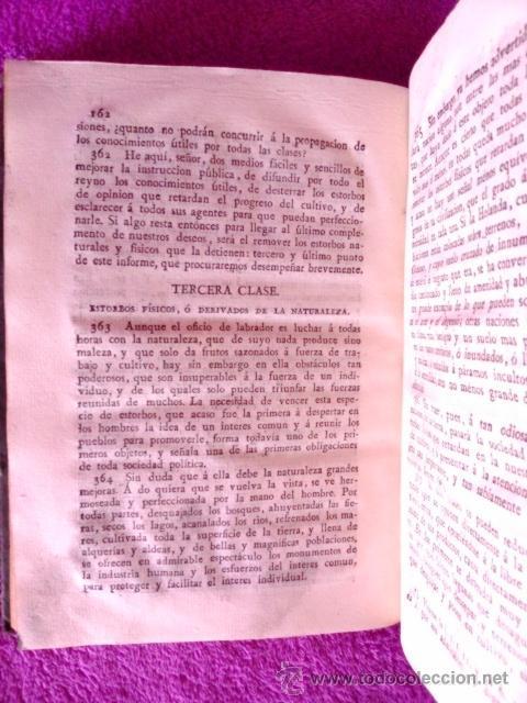 Libros antiguos: LEY AGRARIA, INFORME DE LA SOCIEDAD ECONOMICA DE ESTA CORTE;REAL CONSEJO DE CASTILLA, G. M. J. 1814 - Foto 5 - 41413949