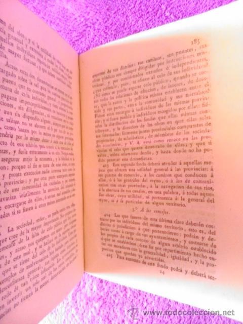 Libros antiguos: LEY AGRARIA, INFORME DE LA SOCIEDAD ECONOMICA DE ESTA CORTE;REAL CONSEJO DE CASTILLA, G. M. J. 1814 - Foto 6 - 41413949