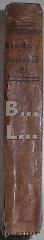 Libros antiguos: Elizondo. Práctica Universal Forense de los Tribunales Superiores de España y de las Indias. Tomo II - Foto 3 - 42451542