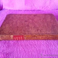 Libros antiguos: CODIGO DE COMERCIO 1829 + LEY ENJUICIAMIENTO DEL COMERCIO 1830, GRAN FORMATO, BIBLIOFILIA. Lote 42549426