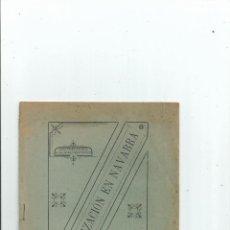 Libros antiguos: DESAMORTIZACIÓN EN NAVARRA 1899. Lote 42698715