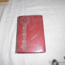 Libros antiguos: CODIGO DE COMERCIO AUMENTADO CON LA LEY DE HIPOTECA NAVAL.-MANUEL ALEU Y CARRERA MADRID 1907. Lote 42719198
