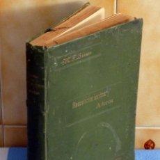Libros antiguos: NOCIONES ELEMENTALES SOBRE RECONOCIMIENTOS Y AFOROS.- M.F. LUANCO. Lote 42893493