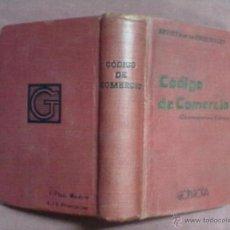 Libros antiguos: REVISTA DE LOS TRIBUNALES CODIGO DE COMERCIO DECIMOSEPTIMA EDICION 1885 GONGORA. Lote 43597394