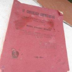 Libros antiguos: LIBRO LO CONTENCIOSO-ADMINISTRATIVO MANUEL FERNANDEZ 1926 MADRID L-4363-7. Lote 43764806