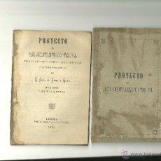 Libros antiguos: 394.- PROYECTO DE REGLAMENTO ARTISTICO TEATRAL-LERIDA 1879. Lote 43911395