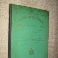 Libros antiguos: ACTOS SEGUIDOS POR D. LUIS PAGE QUIEBRA CÍA PARA EL ALUMBRADO DE GAS EN MADRID, 1867. DED. AUTÓGRAFA. Lote 44316843