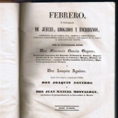 Libros antiguos: PARTE CIVIL - LIBRO II - DE LAS COSAS - TOMO IV -JUECES ABOGADOS ESCRIBANOS - 1844 - FOTOS ADICIONAL. Lote 44837902