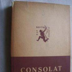 Libros antiguos: CONSOLAT DE MAR. VOLUM III. VALLS I TAVERNER, FERRAN. 1933. Lote 45070649