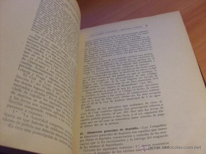 Libros antiguos: MANUAL DE DERECHO MERCANTIL (GABRIEL AVILES ) 1933 (LB17) - Foto 3 - 79328809