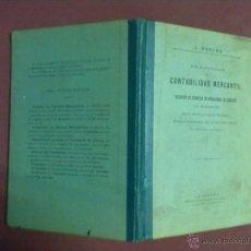 Libros antiguos: DON JOSE ROGINA PRACTICAS DE CONTABILIDAD MERCANTIL 1906. Lote 45450184