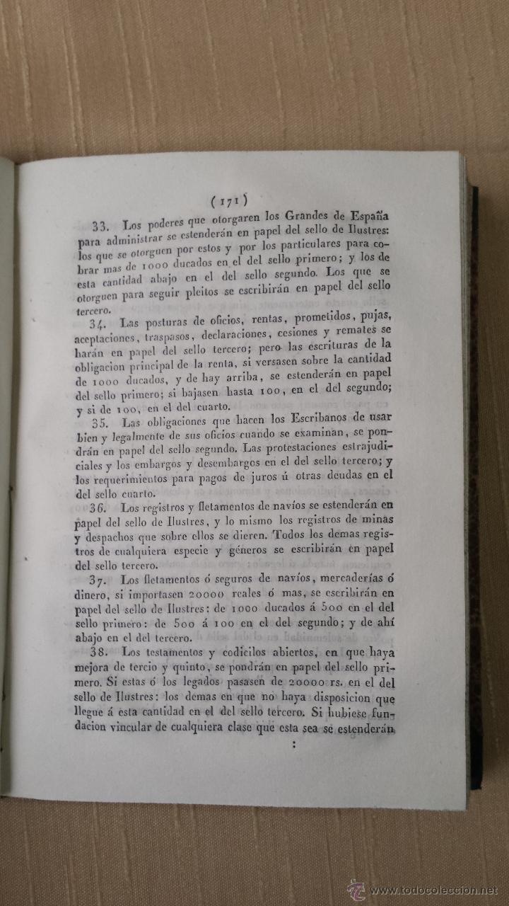 Libros antiguos: MANUAL DE HACIENDA MADRID IMPRENTA DEL COLEGIO DE SORDOMUDOS 1841 - Foto 6 - 45528932
