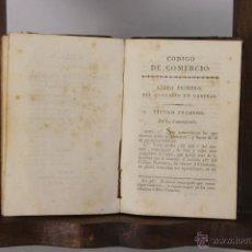 Libros antiguos: 5301- CODIGO DE COMERCIO DE FRANCIA. VV.AA. IMO. DE ESTEVAN. 1812. . Lote 45566347