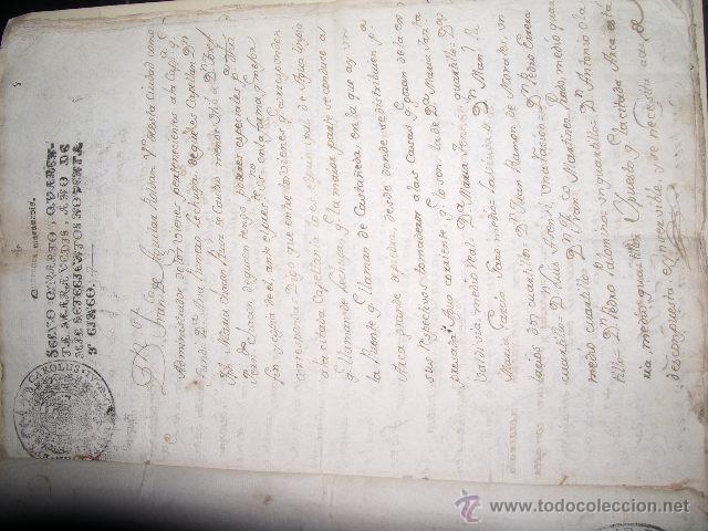 Libros antiguos: DOCUMENTO 1795. - Foto 2 - 46089458