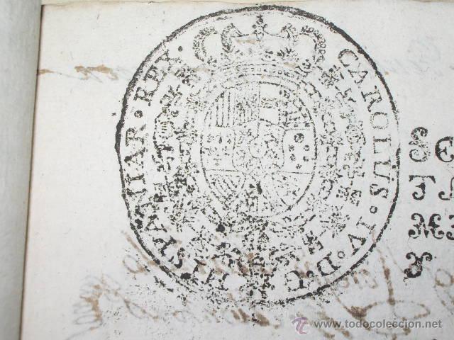 Libros antiguos: DOCUMENTO 1795. - Foto 5 - 46089458