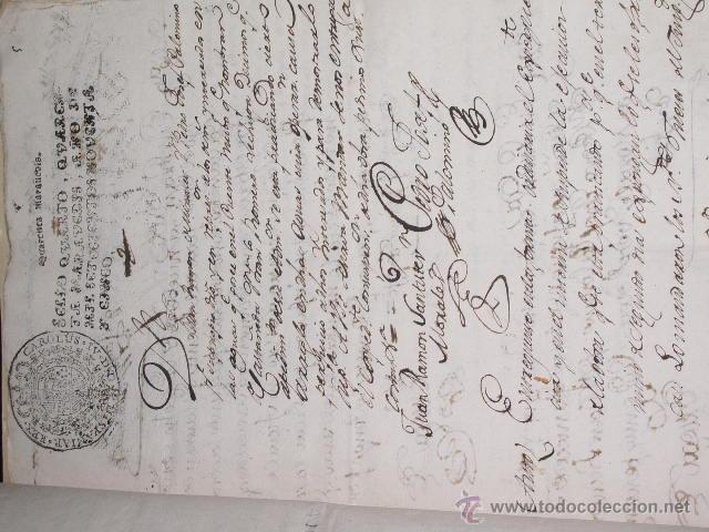 Libros antiguos: DOCUMENTO 1795. - Foto 6 - 46089458