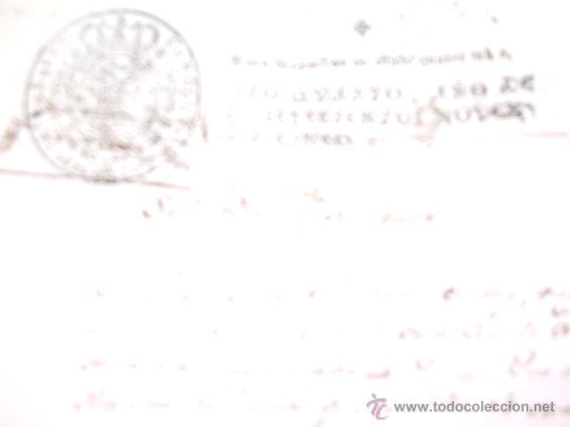 Libros antiguos: DOCUMENTO 1795. - Foto 7 - 46089458