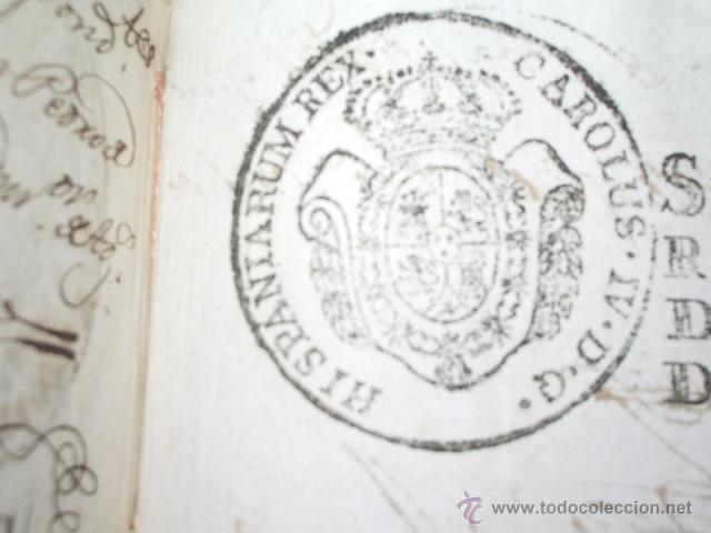 Libros antiguos: DOCUMENTO 1795. - Foto 9 - 46089458