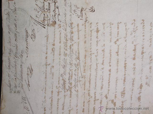 Libros antiguos: DOCUMENTO 1795. - Foto 10 - 46089458