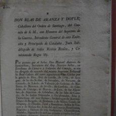 Libros antiguos: (IMPUESTOS IGLESIA). DON BLAS DE ARDANZA Y DOYLE. CABALLERO DEL ORDEN DE SANTIAGO, DEL CONSEJO DE S.. Lote 46116892