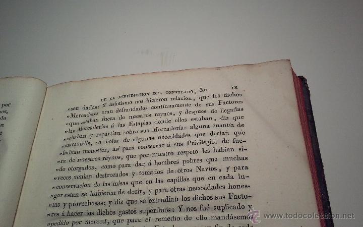 Libros antiguos: Libro Ordenanzas de la ilustre universidad y casa de contratacion de la Villa de Bilbao. Año 1819 - Foto 5 - 46450893