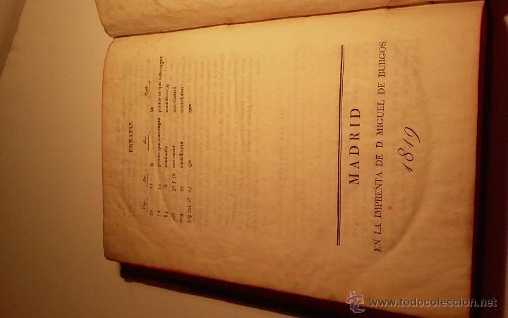 Libros antiguos: Libro Ordenanzas de la ilustre universidad y casa de contratacion de la Villa de Bilbao. Año 1819 - Foto 6 - 46450893