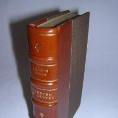 Libros antiguos: 1840 - ANDRÉS BELLO - PRINCIPIOS DE DERECHO DE GENTES. Lote 46649355