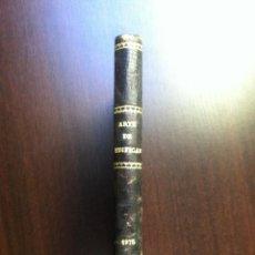 Libros antiguos: ARTE DE EDIFICAR CON ARREGLO AL DERECHO DE CATALUÑA - D. ESTEVAN MURACH Y VIÑAS - GERONA - 1875 -. Lote 46982365