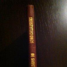 Libros antiguos: CONSTITUCIONES DE SANCTACILIA O COSTUMBRES DE LA CIUDAD DE BARCELONA - LERIDA - 1866 -. Lote 46982494