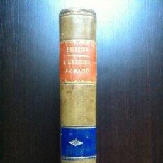 Libros antiguos: RECITACIONES DEL DERECHO CIVIL ROMANO - JUAN HEINECIO - TOMO PRIMERO - VALENCIA - 1879 -. Lote 47107394