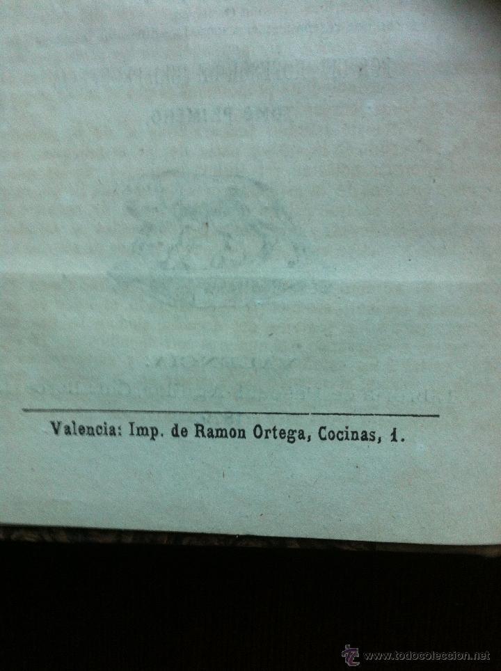 Libros antiguos: RECITACIONES DEL DERECHO CIVIL ROMANO - JUAN HEINECIO - TOMO PRIMERO - VALENCIA - 1879 - - Foto 5 - 47107394