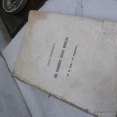 Libros antiguos: POLITICA ADMINISTRATIVA DEL GABINETE BRAVO MURILLO, EN EL RAMO DE FOMENTO. MARIANO MIGUEL DE REYNOSO. Lote 47821247