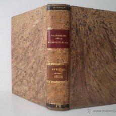 Libros antiguos: BOLETÍN JURÍDICO-ADMINISTRATIVO. APÉNDICE DE 1909. MARTÍNEZ-ALCUBILLA, MARCELO.. Lote 47975585