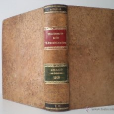 Libros antiguos: BOLETÍN JURÍDICO-ADMINISTRATIVO. APÉNDICE DE 1910. MARTÍNEZ-ALCUBILLA, MARCELO. . Lote 47975733