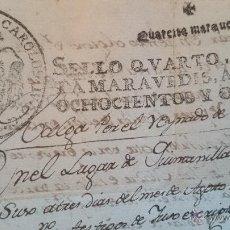 Libros antiguos: LEGAJO O ESCRITURA DE BABIA(LEÓN) AÑO DE 1808- BAJO EL REINADO DE FERNANDO VII(DESCRIPCIÓN). Lote 48207730