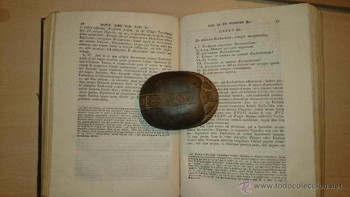 Libros antiguos: 1821 - DOMINICI CAVALLARII ... INSTITUTIONIS JURIS CANONICI - RELIGION DERECHO CANONICO - Foto 2 - 48917751