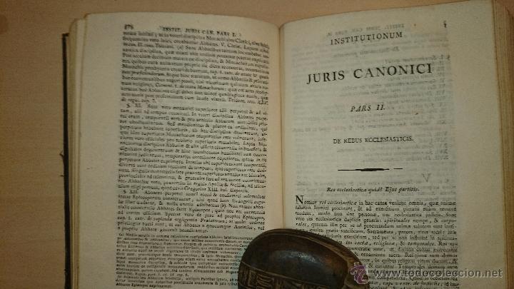 Libros antiguos: 1821 - DOMINICI CAVALLARII ... INSTITUTIONIS JURIS CANONICI - RELIGION DERECHO CANONICO - Foto 3 - 48917751